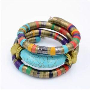 BOHO Wrap Bangle Bracelet